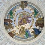 Deckenmalerei an der Kuppel