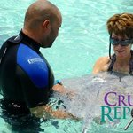 You can hold a stingray!