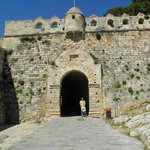 Ingång till fortet