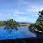 Pool in the villa