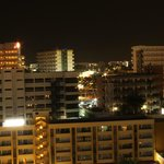 night time from balcony