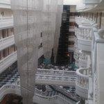 вид с верхнего этажа