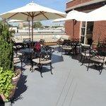 Hotel Rooftop patio!