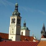 Hotel ASTORIA vue sur les toits du 7ème étage