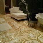 Amazing bathroom of the Presidential Suite