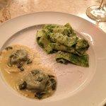 Pasta entree - Ravioli to die for