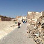 Le mellah, ancien quartier juif, au nord de la medina.