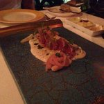 the Ahi Tuna appetizer
