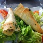 Croustillants au fromage , un délice .