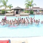 The RIU pool games!