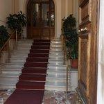 The elegant entrance