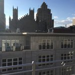 Private roof deck from 2 bedroom Penthouse suite.
