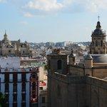 вид с пандусов Setas de Sevilla
