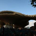 Setas de Sevilla и площадь Энкарнасьон