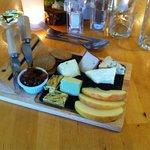 Nachtisch: Arran Käseplatte