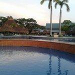 Las hermosas piscinas del hotel
