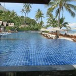 Pool am Strand