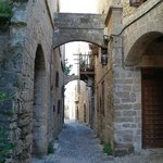 Дорога к отелю от центра старого города