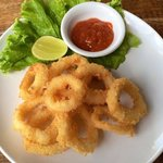 Fried Calamari Made to perfection for your satisfaction.