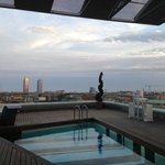 View from Pool / Roof Top