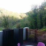 The breathtaking view from the private veranda!!!!!!!!!!