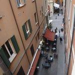 Вид на Via Dell'Orso