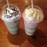 Chilly mocha and chilly honey vanilla raspberry! ��