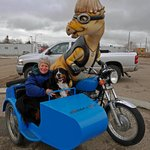It's easy and fun to get around Drumheller