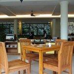 morning breakfast area