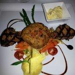 Steak Oscar with Crab Cake