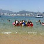 Foto en la playa