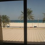 How lucky I was to see the beach from my room!