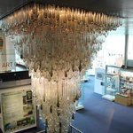 THE MANCHESTER AIRPORT CHANDELIER