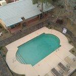 Year around swimming pool