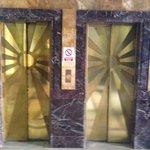 Amazing Art Deco lift doors