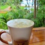 Hot cappuccinos