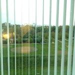 Vue sur l'extérieur au matin