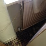 chauffage derriere l'armoire