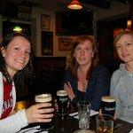 Lovely Guinness at O'Donnabhain's