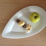 Complimentary Dessert Tray