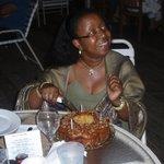 my birthday rum cake