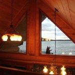 Aussicht aus der oberen Etage der Pioneer Cabin
