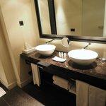 Spacious room/bathroom