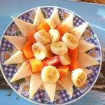 salade de fruits du matin