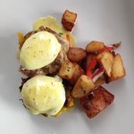 Carribean Eggs Benedict!