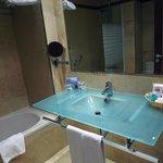 Basic, decent bathroom