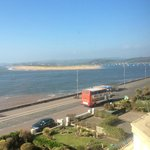 Exmouth with view across the bay to Dawlish