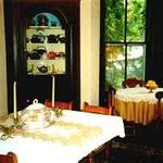 Dining room - antiques and teapots