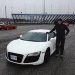 Cayuga racetrack_ adventure with Audi R8