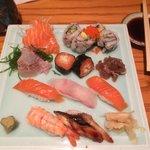 Sushi Sashimi Comination (without tuna)